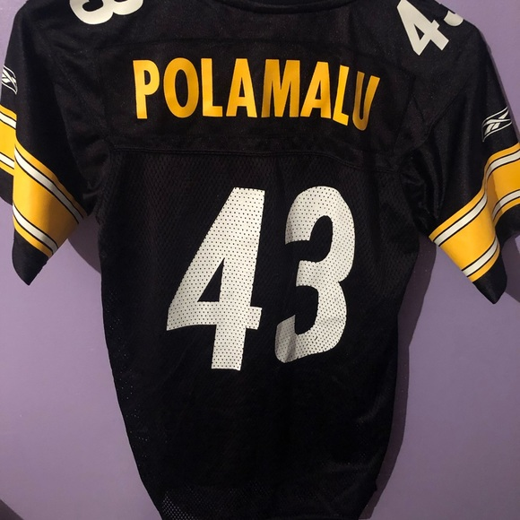 sports shoes 32b86 8a392 Authentic Pittsburgh Steelers Jersey!